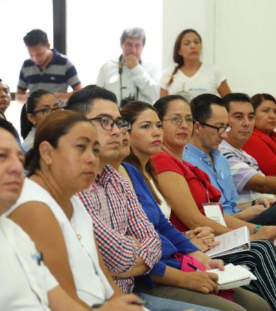Capacita Iapqroo a servidores públicos de Solidaridad en nuevo modelo de creación de presupuestos