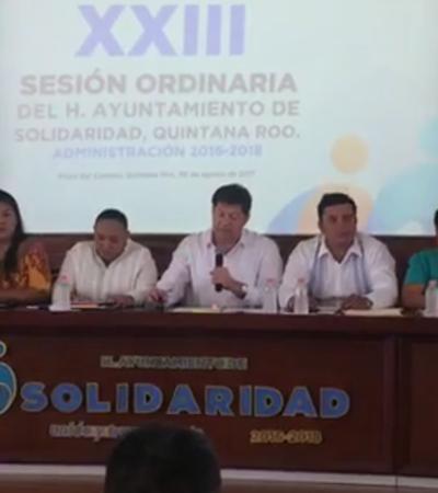 Con controversia, aprueba Cabildo de Solidaridad descuento en nuevo impuesto
