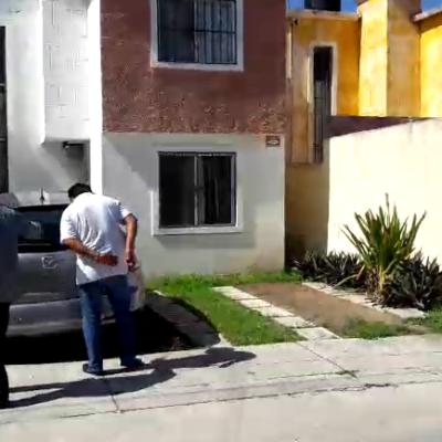Investigan camioneta chocada en la SM 41 de Cancún