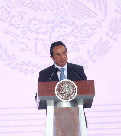 Plantea Carlos Joaquín ante Sedesol más recursos públicos y más coordinación para disminuir la desigualdad social