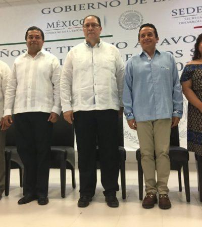 En aniversario de la Sedesol, Gobernador ratifica la vía del trabajo coordinado para abatir la desigualdad