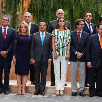 Asiste Carlos Joaquín a presentación de resultados de los CRIT del país y del Teletón 2017