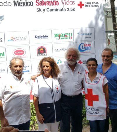 """""""TODO MÉXICO SALVANDO VIDAS"""": Invitan a correr por la Cruz Roja"""