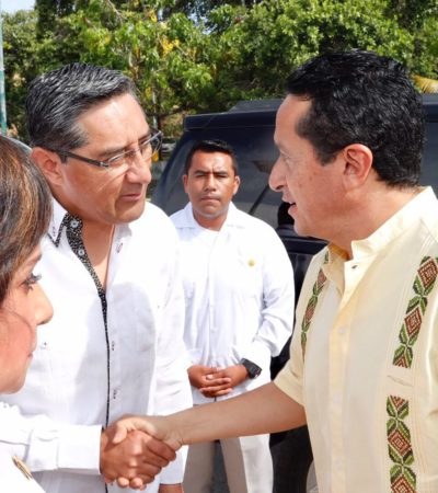 """RECONOCE VERGARA INTERÉS POR ALCALDÍA DE BJ: """"Si el Gobernador necesita de apoyo, claro que estamos ahí para apoyarlo"""", dice"""