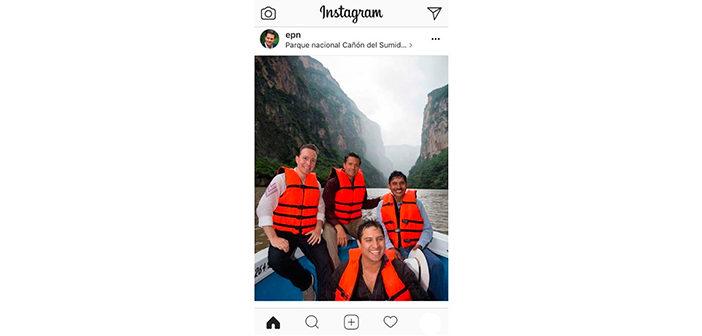 Se apresura Peña Nieto a borrar de Instagram una foto en la que aparece con Julión Álvarez, vinculado por EU con el narco