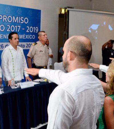 RINDE PROTESTA DELEGACIÓN DE COPARMEX COZUMEL: Corregimos el rumbo de Quintana Roo para darle más y mejores oportunidades a la gente, dice Carlos Joaquín