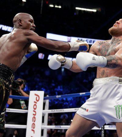 SHOW Y NEGOCIO: Mayweatherderrotó a Conor McGregor por nocaut técnico
