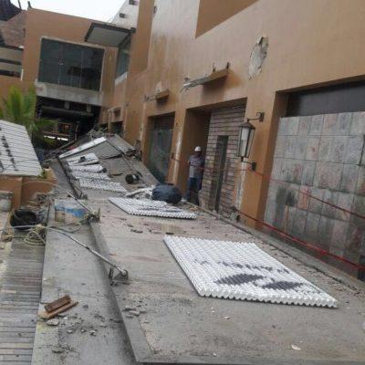DERRUMBE EN EL COMPLEJO EXPERIENCIAS XCARET: Confirman al menos un muerto y un herido por colapso en obra en construcción