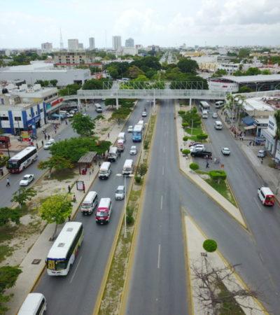 LOS PUNTOS CONFLICTIVOS DEL TRÁFICO EN CANCÚN: Así va el plan de movilidad en la Avenida Tulum de Cancún   VIDEO
