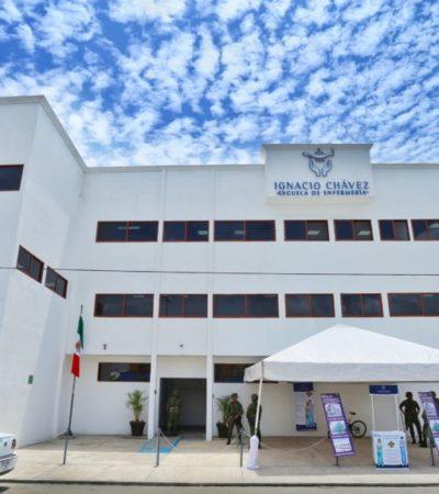 Inauguran escuela de enfermería en Playa del Carmen