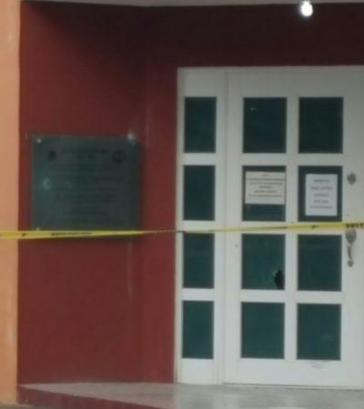 BALEAN CASA EJIDAL EN COZUMEL: Ataque sin heridos en medio de polémica por la pluma de acceso instalada en El Cedral