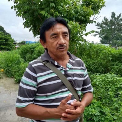 Piden campesinos pago de seguro agrícola por 'Harvey' en Felipe Carrillo Puerto