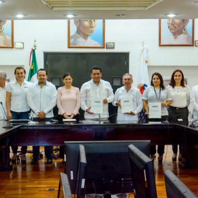 Recibe Congreso propuesta de reforma electoral del Ieqroo