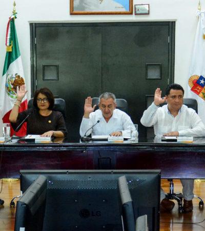 Turna Diputación Permanente tres iniciativas para su análisis