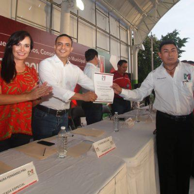 Nombran a Rubén Montoya Mex como nuevo dirigente del PRI en Puerto Morelos