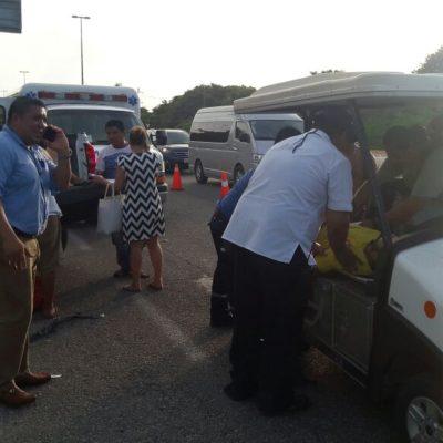 Carambola deja más de 15 heridos en Playa