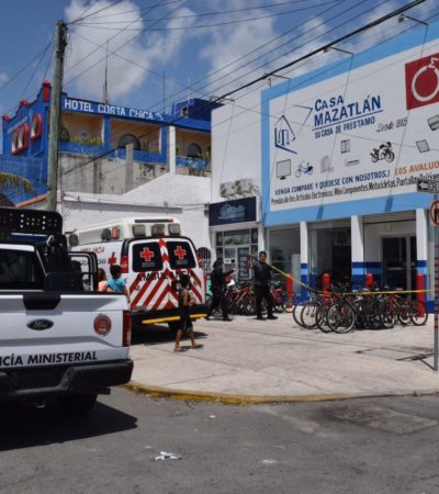 Asaltan casa de empeño 'Mazatlán' en la López Portillo de Cancún