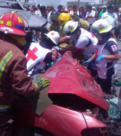 TRAGEDIA SABATINA EN LA PORTILLO: Mueren dos personas al chocar una pipa contra auto; eran boxeadores en el inicio de sus carreras