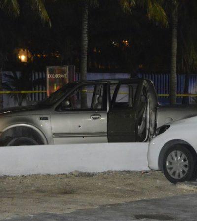 RAFAGUEAN CAMIONETA EN ZONA HOTELERA: Disparan contra tres personas durante un ataque en la madrugada en el 'Party Center' de Cancún