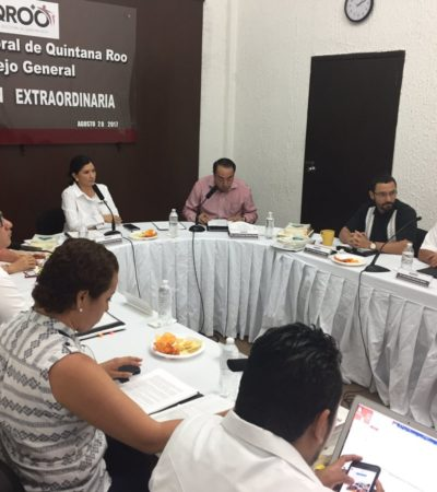 Brincan Luz María Beristaín y Gregorio Sánchez quejas interpuestas en su contra ante el Ieqroo