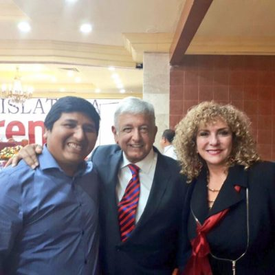 Manda AMLO a #LadySenadora a Yucatán
