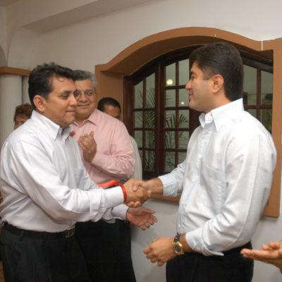 Rompeolas: Los archienemigos (Félix y Miguel Ramón) se aplican a fondo