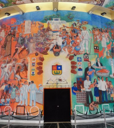 MURALES, CON DAÑOS IRREVERSIBLES: 13 obras artística en la Zona Sur de QR sufren afectaciones por falta de mantenimiento
