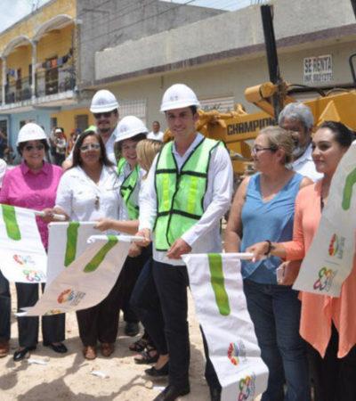 Inician las obras de rehabilitación del Circuito Vial para Tránsito Urbano en la delegación Alfredo V. Bonfil