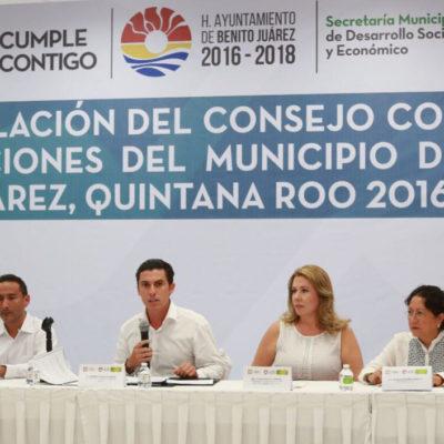 Instalan Consejo contra las Adicciones con el fin de disminuir el consumo de drogas en Cancún