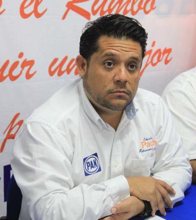 Ratifican a Eduardo Pacho en la dirigencia del PAN en Cancún