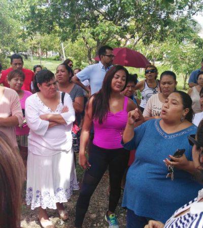 Rechazan vecinos proyecto de ejercitadores en parque de la Región 513; son recursos federales y podrían perderse, advierte funcionario