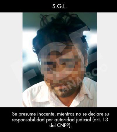 CAE VIOLADOR Y ASESINO DE MENOR: Cuando pretendía huir a Tabasco, detienen en Cancún al padrastro de la adolescente muerta en Playa
