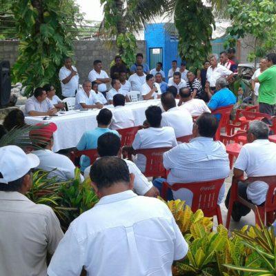 Convocan taxistas isleños a elecciones y respaldan a 'Fishman'