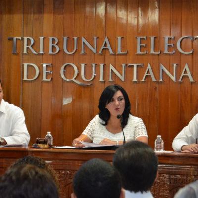 Rinde informe presidenta del Teqro y dice que los ciudadanos son el 'motor' de la democracia