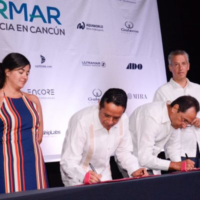 Firma Carlos Joaquín el compromiso de Quintana Roo de sumarse a la plataforma de 'Gobierno Abierto'