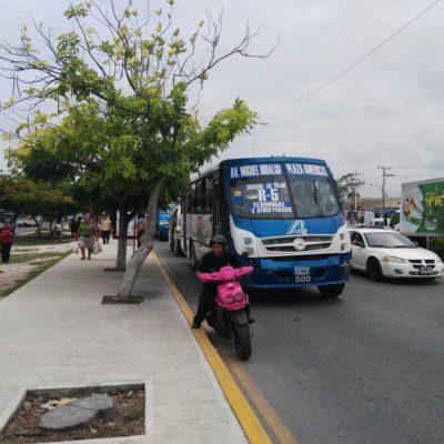 ARRANCA ESTRATEGIA DE MOVILIDAD: Implementan carriles exclusivos en la Avenida Tulum de Cancún