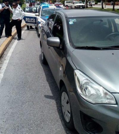 TRÁNSITO SE LANZA A LA 'CACERÍA' DE UBER: Taxistas se dicen 'complacidos' y aseguran que su lucha contra la plataforma es 'pacífica'