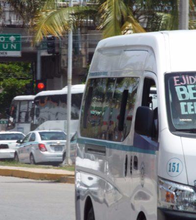 BUSCAN VÍAS ALTERNAS PARA DESAHOGAR EL TRÁFICO: Por buen camino, plan de movilidad en Playa del Carmen