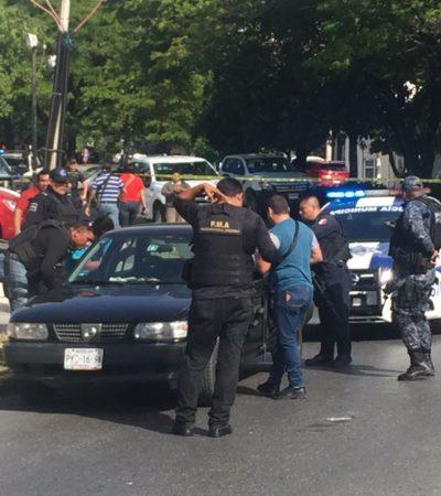 DETIENEN A EMPISTOLADOS EN CANCÚN: Persecución culmina por Malecón Las Américas con la captura de dos sospechosos; los liberan tras comprobarse que eran custodios
