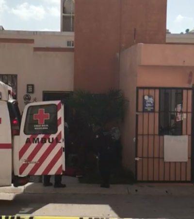 BALEAN A JOVEN EN CANCÚN: Herido en la Región 107, fue hospitalizado