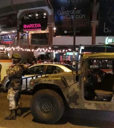 Realizan Ejército y Federales cateo en Plaza de Toros de Cancún