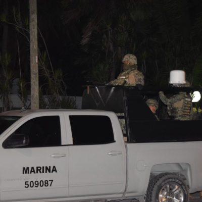 ACTIVAN EN CANCÚN OPERATIVO TRAS CAPTURA DE 'DOÑA LETY': Realizan fuerzas federales, estatales y municipales cateos rumbo a Bonfil