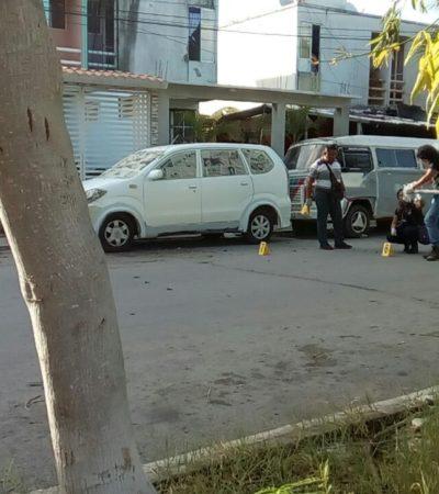 RAFAGUEAN TALLER EN PLAYA DEL CARMEN: Confirman disparos contra negocio de hojalatería en Villas Riviera; no hubo heridos