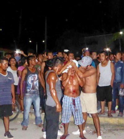 BATALLA CAMPAL EN LA COLOSIO: Estalla zafarrancho de cientos en el parque Lázaro Cárdenas; interviene el Ejército y la Marina