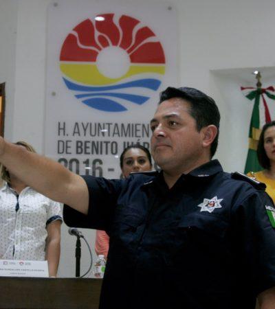 RATIFICAN A JEFE POLICIACO: Aprueba Cabildo nombramiento de Darwin Puc como secretario de Seguridad Pública y Tránsito de Benito Juárez