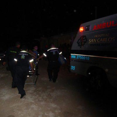 BALEADOS EN PLAYA Y PUERTO MORELOS: Hieren a un hombre en la colonia Zetina Gasca y a una mujer en el fraccionamiento In House