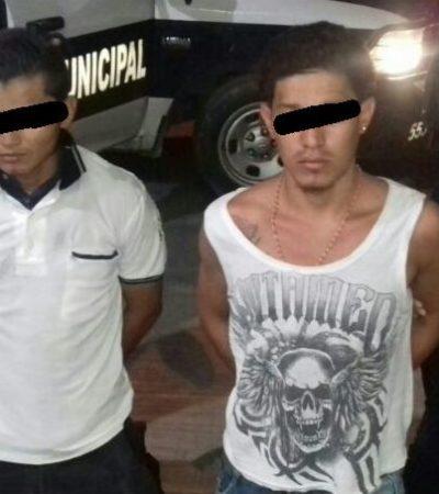 Detienen a presuntos agresores de menor en 'El Milagro' y les aseguran un arma y un taxi