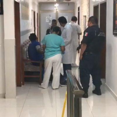 FALLIDO INTENTO DE EJECUCIÓN EN CANCÚN: Balean a un hombre que llegó por su propio pie a una clínica de la SM 76