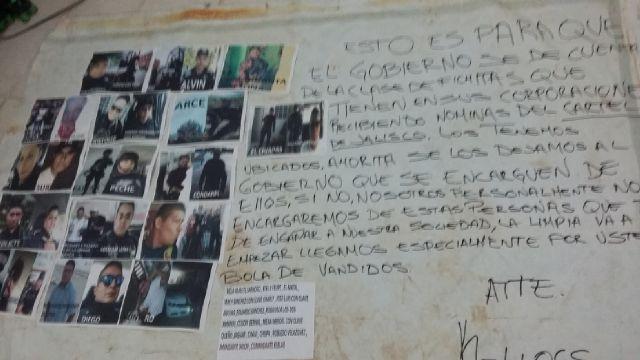 Con manta, acusan a mandos policiacos de proteger al crimen en Cancún