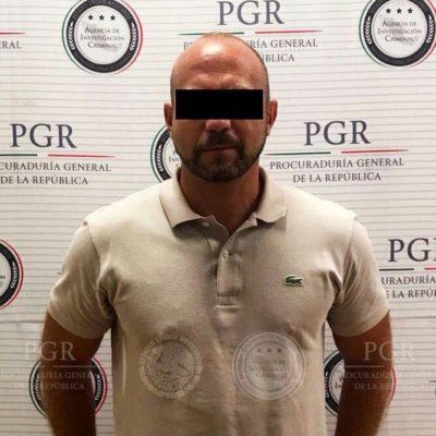 CAPTURAN EN CANCÚN A NARCO BUSCADO EN EU: Le atribuyen a Ignacio 'N' coordinar el trasiego de cocaína desde el aeropuerto local hacia la Unión Americana y Europa